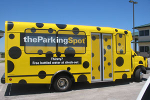 The Parking Spot - 10% off plus receive FREE day of parking