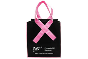AAA Prescription Savings - Receive a free Pink Ribbon tote bag in October