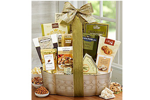 1-800-FLOWERS.com - 35% off holiday gift baskets