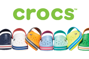 Crocs - Save 25% online and at all Crocs-owned stores and outlets.