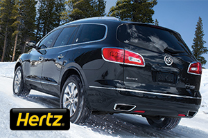 Hertz Car Rental - Save 20% plus an additional $40 off the base rate on your weekly rental.