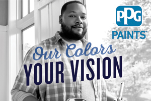 PPG Paints - Save 25% at participating locations.