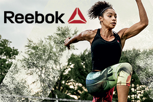 Reebok Outlet Stores - Save 20% off the total purchase price.