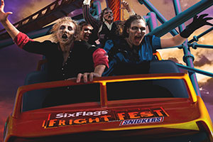 Six Flags Theme Parks - Fright Fest, presented by SNICKERS®